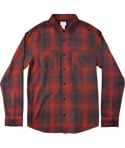RVCA Neutral Plaid L/S Flannel