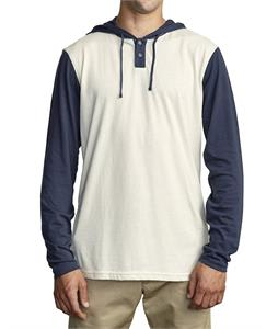 RVCA Pick Up Hood L/S Shirt