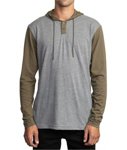 RVCA Pick Up Hood L/S Henley