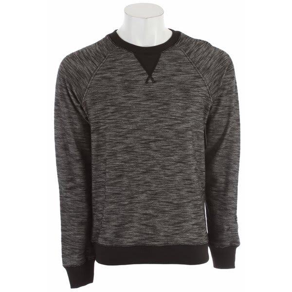 Rvca Rocky Crew Sweatshirt Black U.S.A. & Canada