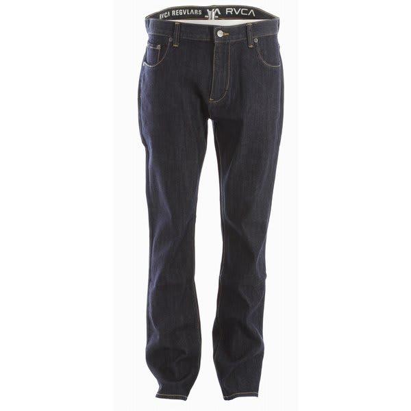 Rvca Regulars Jeans Raw Blue U.S.A. & Canada