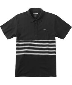 RVCA Sure Thing Striped Polo Shirt