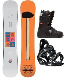 Salomon 6 Piece Snowboard Package