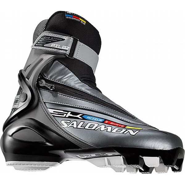Salomon Active 8 Cross Country Skate Boots Black U.S.A. & Canada