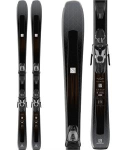Salomon Aira 76 CF Skis w/ Lithium 10 Bindings