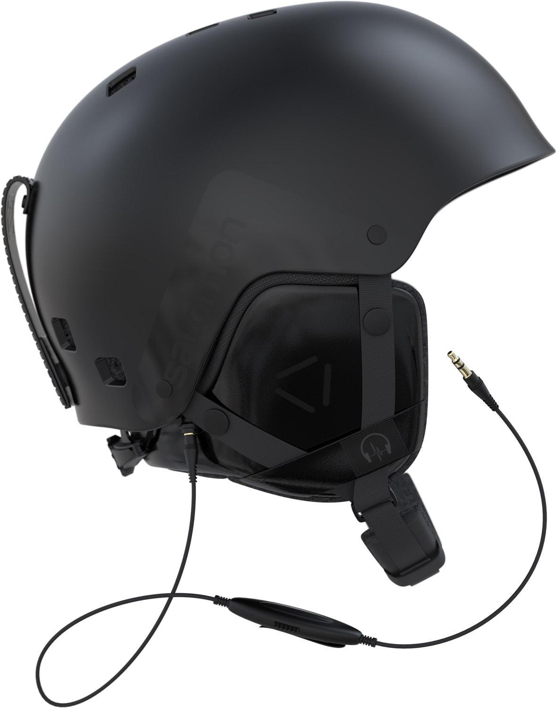 Salomon Brigade Audio Ski Helmet 2018