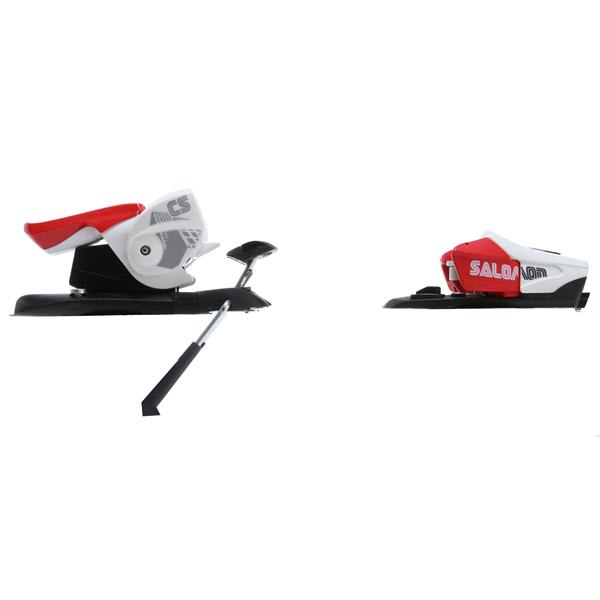 Salomon C5 Ski Bindings Red / White U.S.A. & Canada