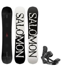 Salomon Craft Snowboard w/ Trigger Bindings