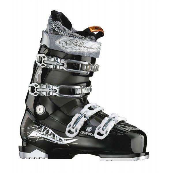 Salomon Divine Rs 8 Ski Boots Black / Crystal U.S.A. & Canada