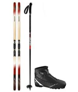 Salomon Escape 60 Outpath XC Skis/Prolink Auto Bindings + Boots & Poles Package