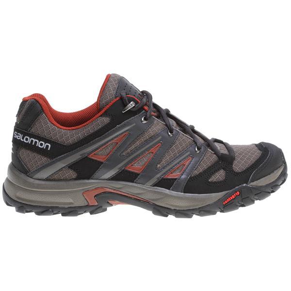 Salomon Eskape Aero Hiking Shoes Swamp / Asphalt / Deep Red U.S.A. & Canada