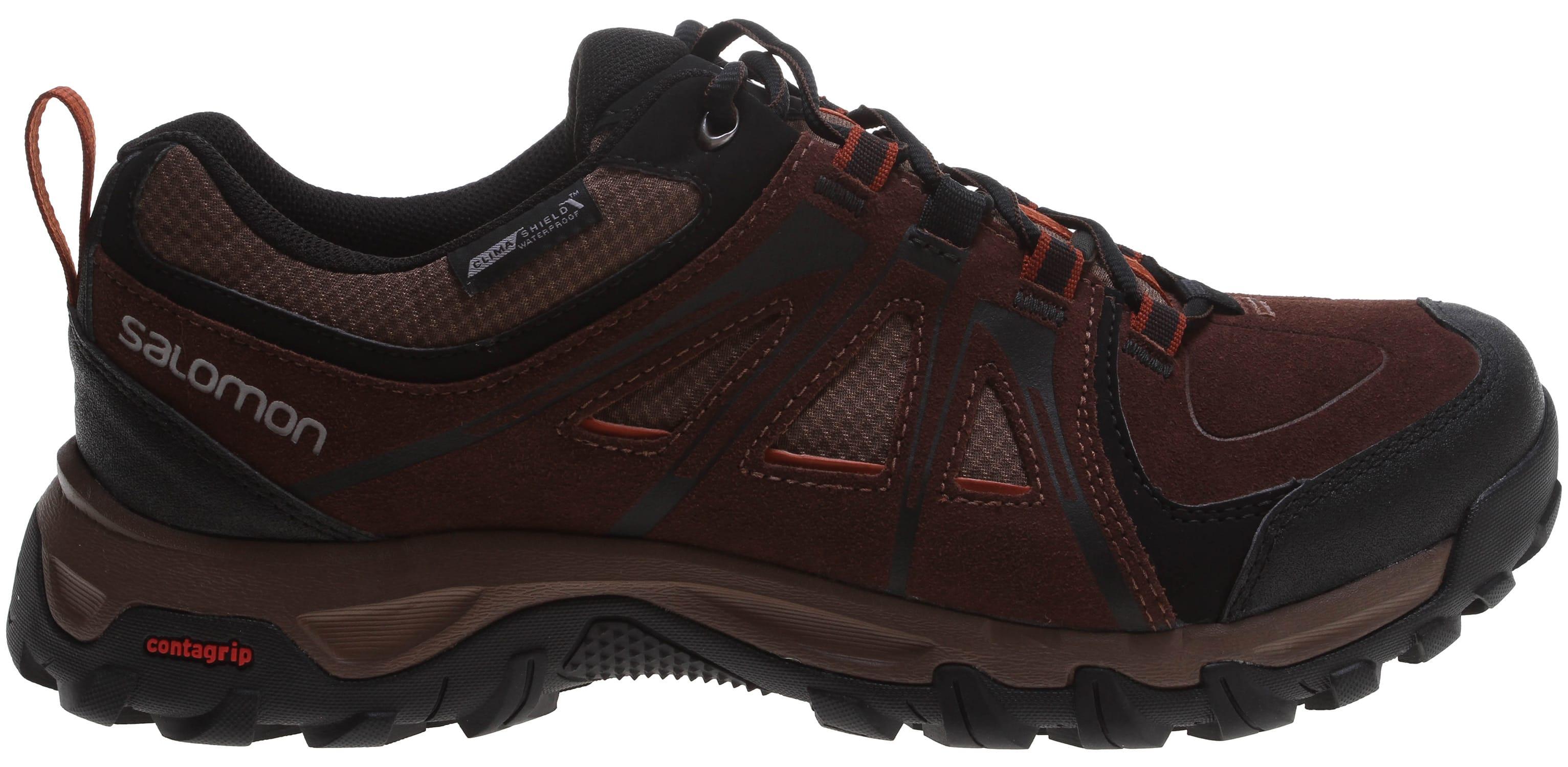 Water Resistant Men/'s EAN Hiking Shoes Salomon Evasion Cs Wp Leather