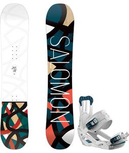 Salomon Lotus Snowboard w/ Spell Bindings