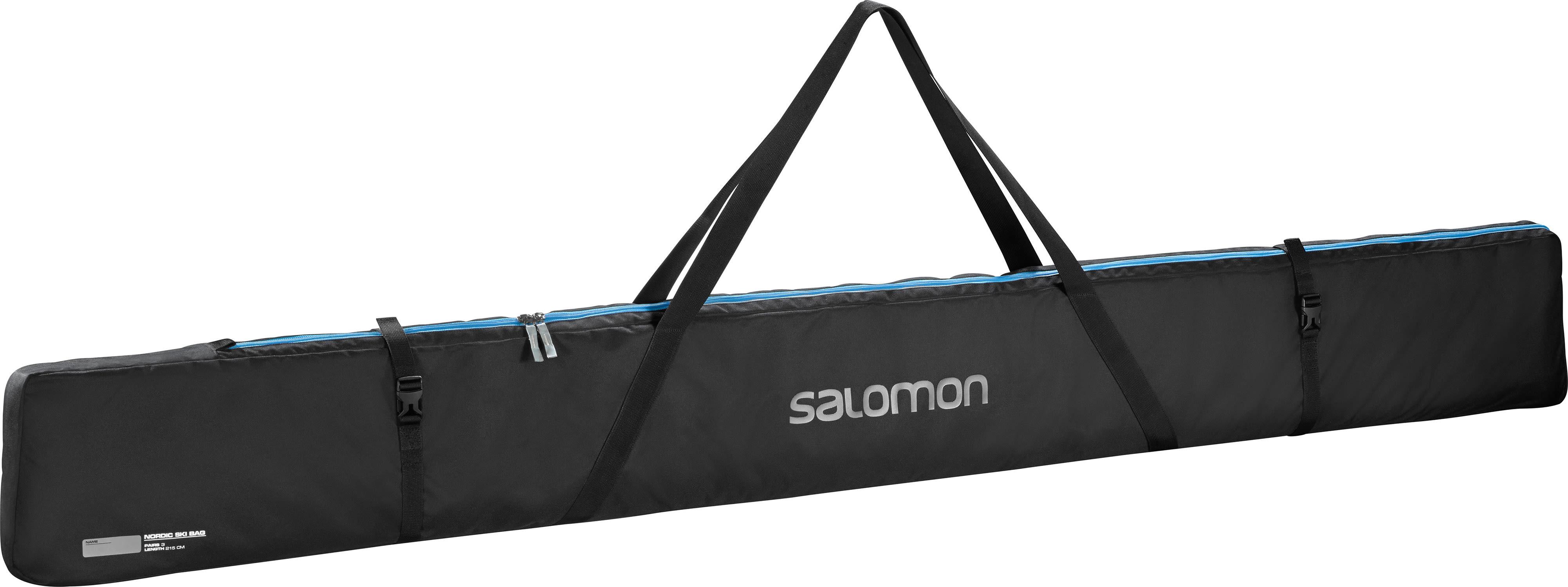 Salomon Nordic 3 Pairs 215 Xc Ski Bag 2019