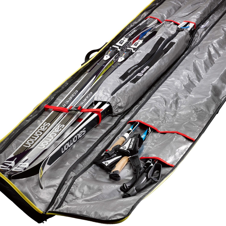 Salomon Nordic 3 Pairs 215 Pro Sleeve Xc Ski Bag Thumbnail
