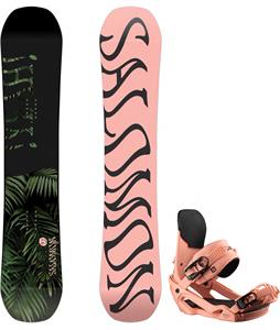 Salomon Oh Yeah Snowboard w/ Vendetta Bindings