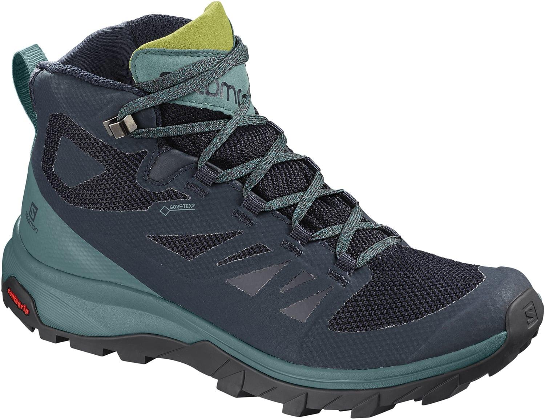 Salomon Outline Mid Gtx Hiking Boots Womens 2019