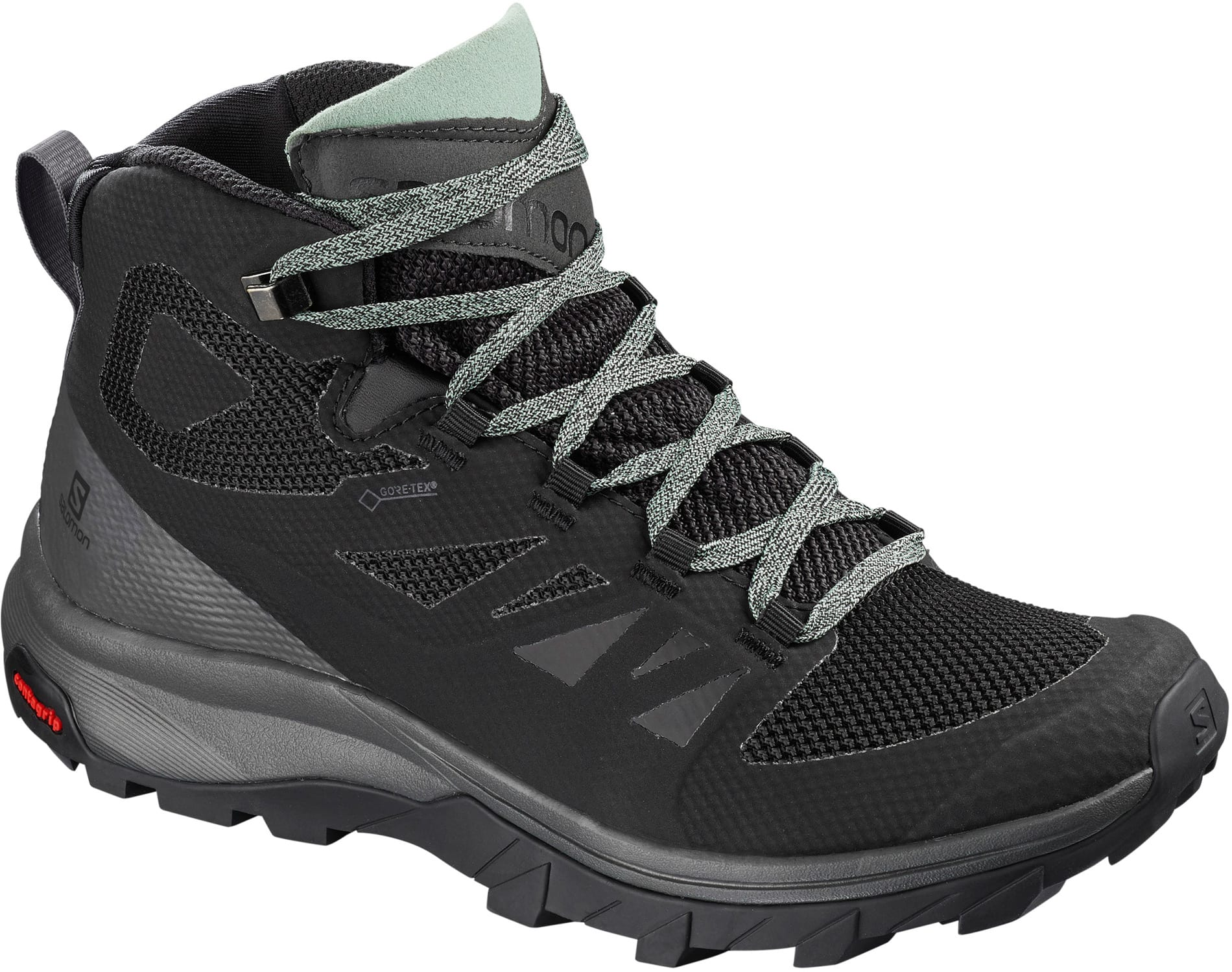 205a6e8b13 Salomon Outline Mid GTX Hiking Shoes