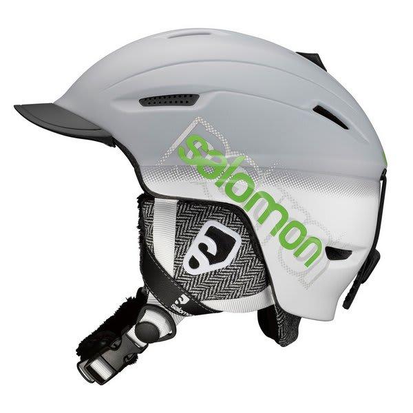 Salomon Patrol Ski Helmet Grey Matte U.S.A. & Canada
