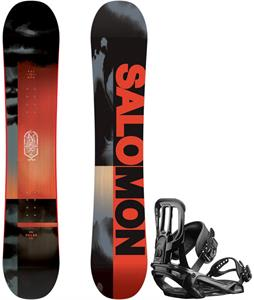 Salomon Pulse Snowboard w/ Pact Bindings
