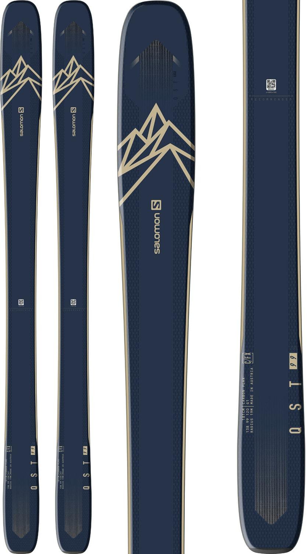 Salomon QST 99 Skis Mens