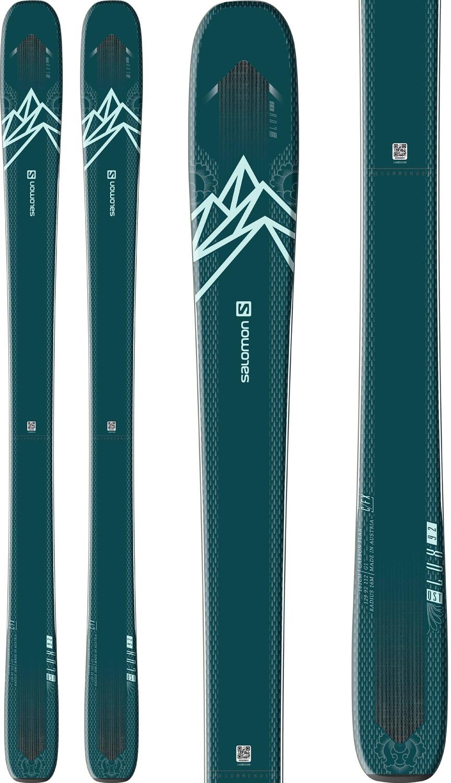 Salomon N QST LUX 92 Women's Ski 2021 Ski Equipment from