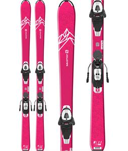 Salomon QST Lux Jr Medium Skis w/ L6 GW Bindings