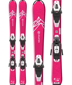 Salomon QST Lux Jr Small Skis w/ C5 GW Bindings