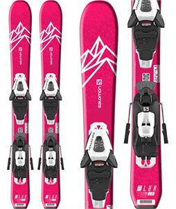 Salomon QST Lux Jr XS Skis w/ C5 GW Bindings