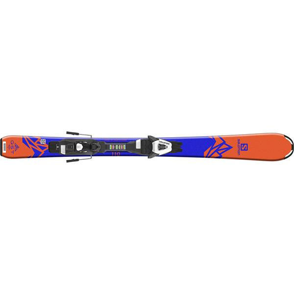 Salomon QST Max Jr Kids Skis W/ Easytrak C5 Bindings