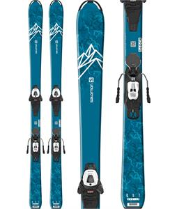 Salomon QST Max Jr Medium Skis w/ L6 GW Bindings