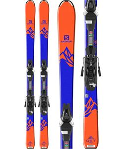 Salomon QST Max Jr Skis w/ Easytrak L7 Bindings