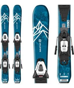 Salomon QST Max Jr XS Skis w/ C5 GW Bindings