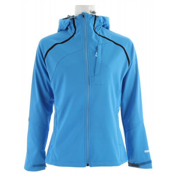 Salomon Quest Hoody Windstopper Jacket Process Blue U.S.A. & Canada