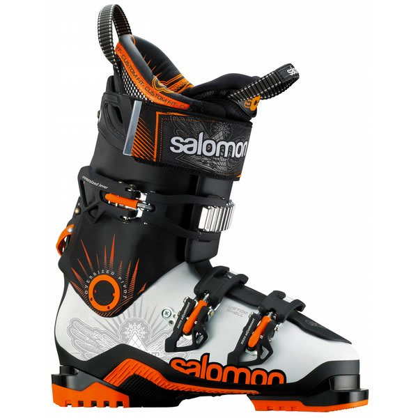 Salomon Quest Max 100 Ski Boots White / Black U.S.A. & Canada