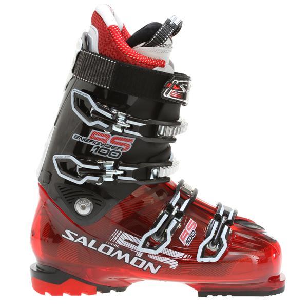 Salomon Rs 100 Ski Boots Red Translucent / Black U.S.A. & Canada
