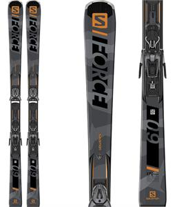 Salomon S/Force 9 Skis w/ Z10 GW Bindings