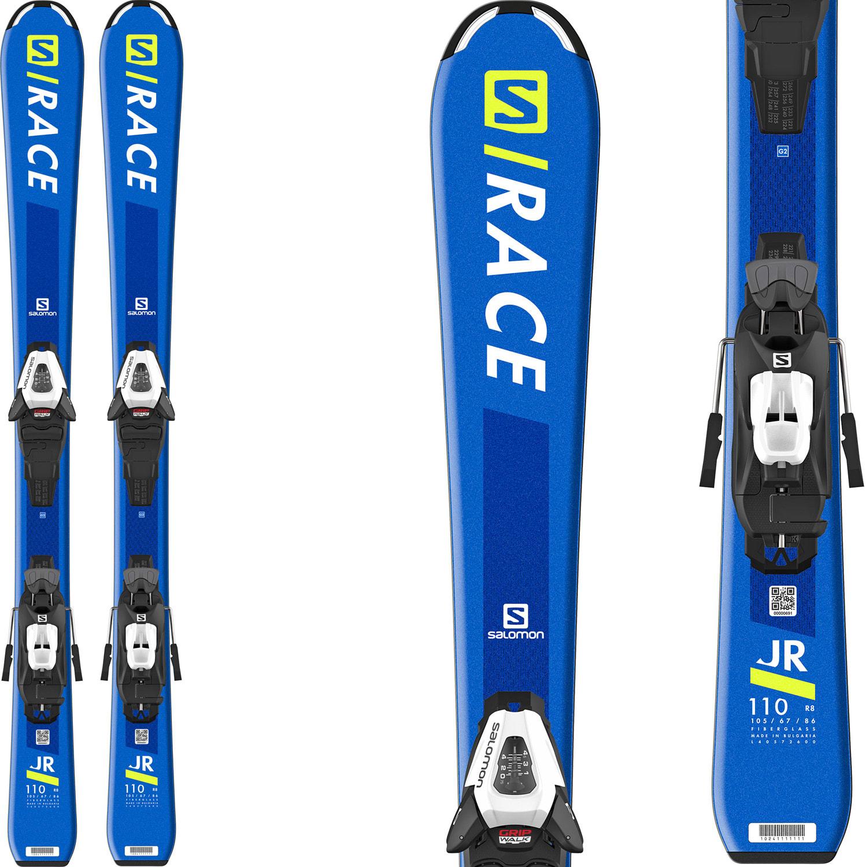 Salomon S/Race Jr Small Skis W/ C5 GW Bindings