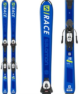 Salomon S/Race Jr Medium Skis w/ L6 GW Bindings