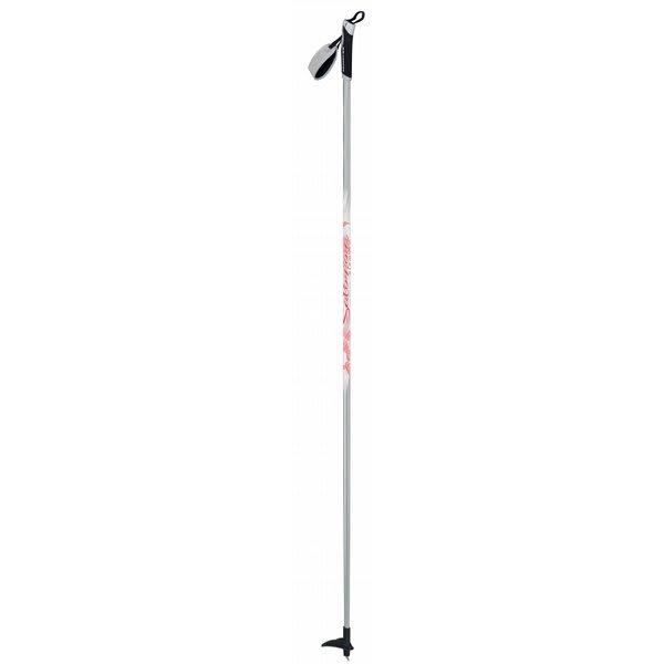Salomon Siam Comp Cross Country Ski Poles White / Silver U.S.A. & Canada