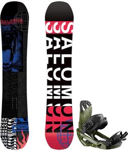 Salomon Sleepwalker Snowboard w/ Rhythm Bindings