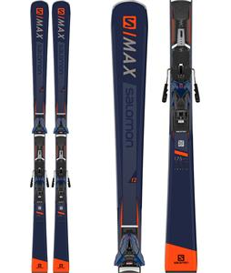 Salomon S/Max Blast Skis w/ X12 TL Bindings