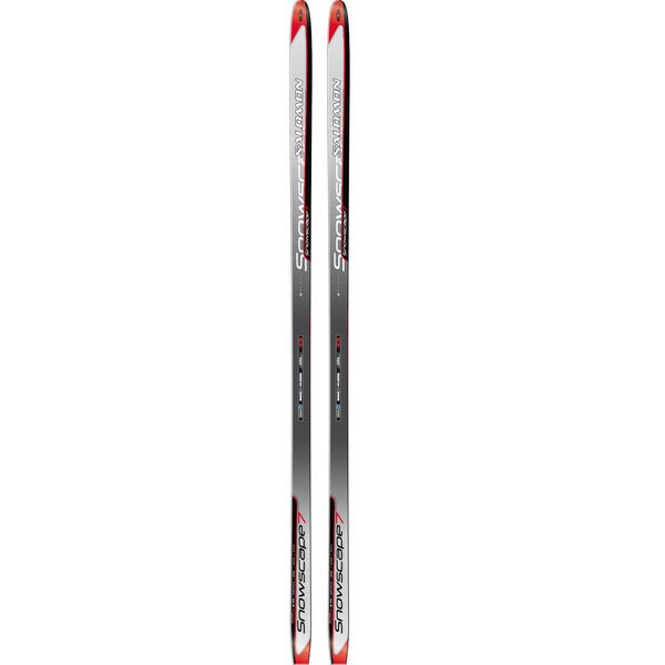 Salomon Snowscape 7 Cross Country Skis Red / Grey U.S.A. & Canada