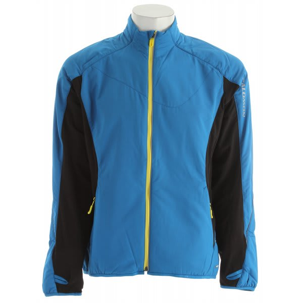 Salomon Super Fast Ii Jacket Vibrant Blue / Black U.S.A. & Canada