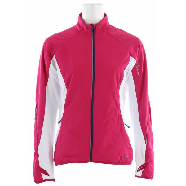 Salomon Superfast Ii Softshell Cross Country Ski Jacket Fancy Pink / White U.S.A. & Canada