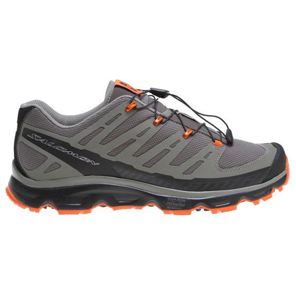 Salomon Synapse Hiking Shoes Swamp / Dark Titanium / Spring Orange U.S.A. & Canada