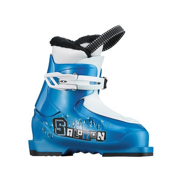 Salomon T1 Ski Boots Process Blue / White U.S.A. & Canada