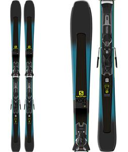 Salomon XDR 79 CF Skis w/ Z11 Walk Bindings