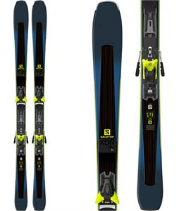 Salomon XDR 80 Ti Skis w/ Z12 Walk Bindings