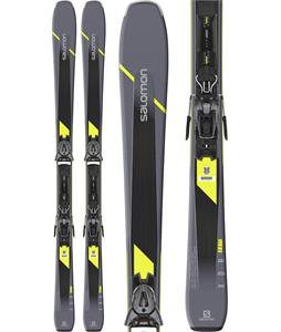 Salomon XDR 80 ST C Skis w/ Z10 GW Bindings